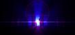 Gehe ins Licht - Blau Violett