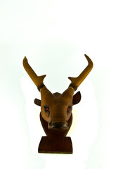 deer head isolated