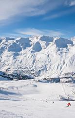 Ski resort  Obergurgl. Austria