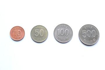韓国ウォン硬貨