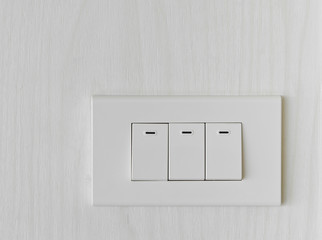 Three light switch
