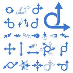 Vector Arrow Signs