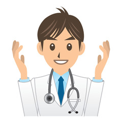 医者 A 表情2 身振り