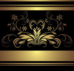 Decorative retro background for decor