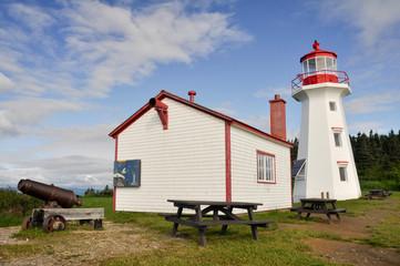 Cape Gaspe lighthouse, Quebec (Canada)
