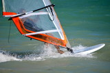 Windsurfer Closeup