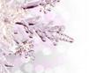 Décoration de Noël, étoile rose