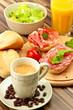 Ein gesundes Frühstück