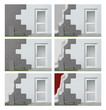 Fassadendämmung Arbeitsschritte