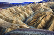 Leinwanddruck Bild - Zabruski Point Death Valley National Park California