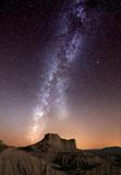 Fototapeta kolor - pustynia - Góry
