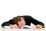 assonnato dallo studio