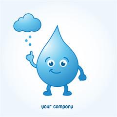 logo eau, logo entreprise
