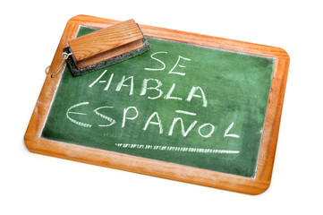 Spanish is spoken