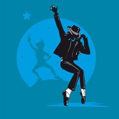 mackael jackson chanteur danseur hommage