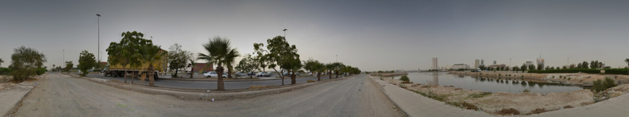 Commercial center of Jeddah panorama
