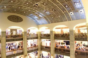 Shopping center.