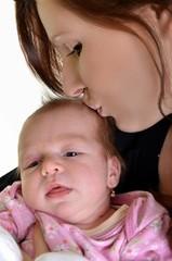 mère avec bébé