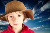 bambino sereno - serene child poster