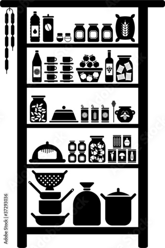 vectorized pantry