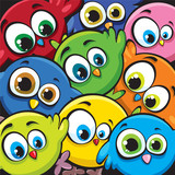 Cartoon birds