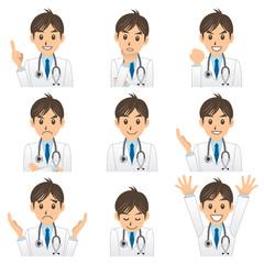 医者 A 表情