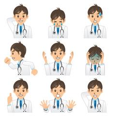 医者 A 表情2