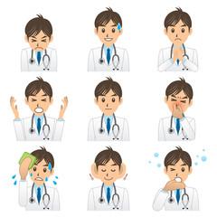 医者 A 表情3