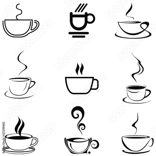 Coffee Cup - isolated vector icon