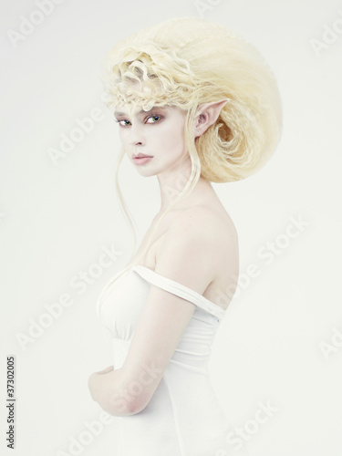 Beautiful young girl elf - 37302005