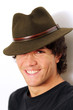 Smiling guy with hat