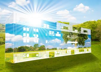 Immeuble à énergie positive