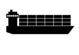 Piktogramm Schiff
