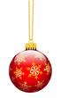Weihnachtskugel, Christbaumschmuck, Weihnachtsschmucke, Deko