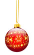 Weihnachtskugel, Blattgold, Kugel, Ornamente, verziert, Gold