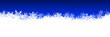 Schneeflocken, Eiskristalle, Schnee, Eisblumen, Panorama, Banner