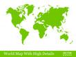 Weltkarte, Erde, Welt, Ökologie, grün, Umweltschutz, Erdkarte