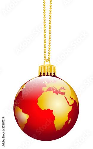 Weihnachtskugel, Business, Weltkugel, Erde, Weihnachtsdekoration