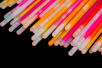 Colorful Glow In The Dark Light Sticks