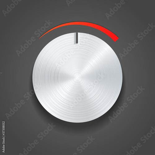 Metal vector knob