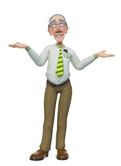 granddad businessman who cares?