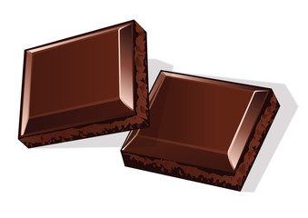 Carres De Chocolat
