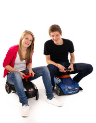 20.11.11 Fahrschule Führerschein Bobbycar