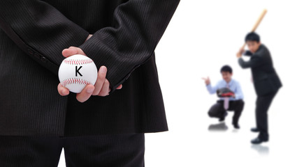 Business is like a baseball game