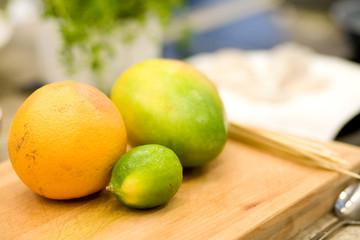 Früchte in der Küche