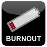 Web Button - Burnout