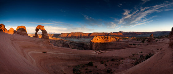 Delicate Arch Panorama III