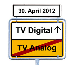 Schild TV Digital am 30. April 2012