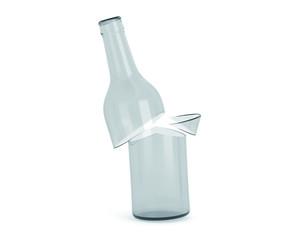 Flasche zersprungen