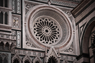 Santa Maria del Fiore - Duomo Cathedral in Florence, Italy
